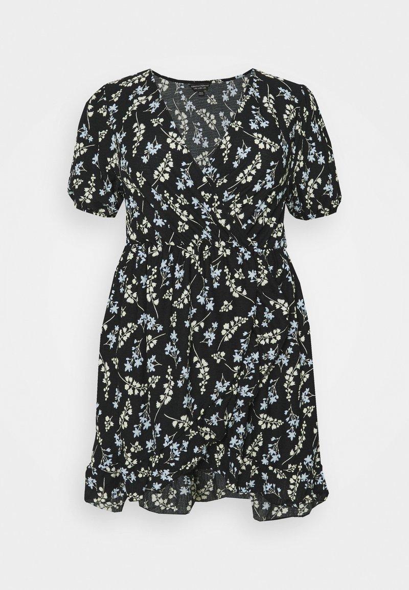 Dorothy Perkins Curve - Jersey dress - black/multi