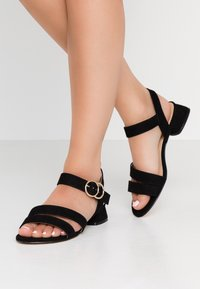 Office Wide Fit - MARIA WIDE FIT - Sandals - black - 0