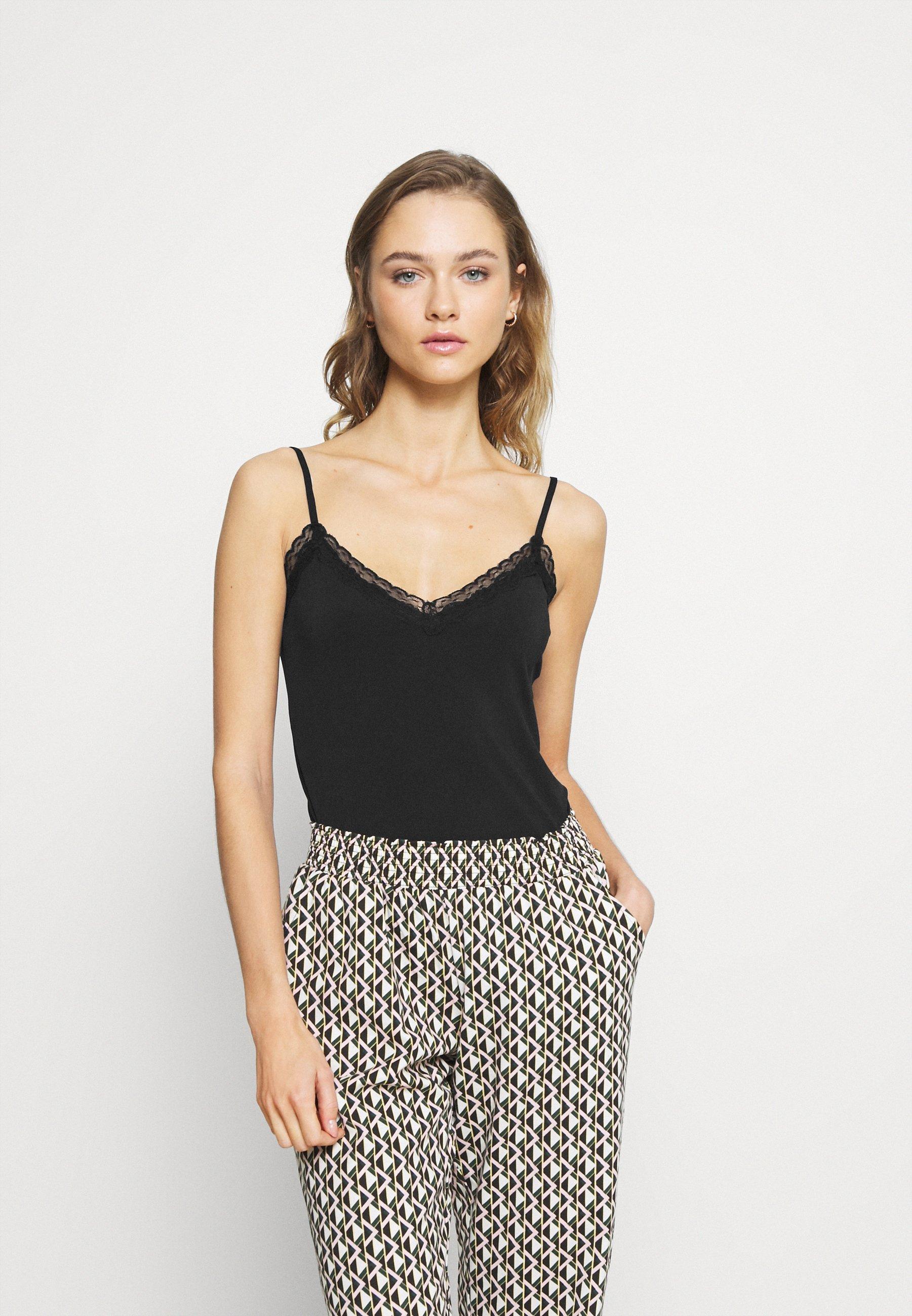 Damen PCKATE LACE SINGLET - Unterhemd/-shirt