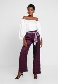 Desigual - PANT TERRY - Spodnie materiałowe - boaba - 1