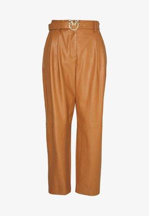 RAPHAELA PANTALONE - Trousers - camel