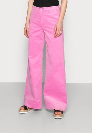 ALLIE TROUSERS - Trousers - bubble gum pink