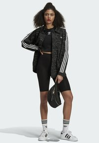 adidas Originals - JACKET - Cowboyjakker - black/white/silver met. - 1