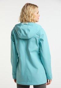 Schmuddelwedda - Soft shell jacket - rauch aqua - 2
