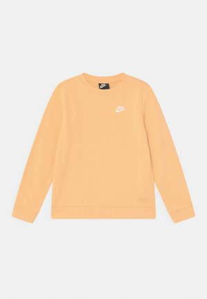 CREW CLUB - Sweatshirt - orange chalk/white