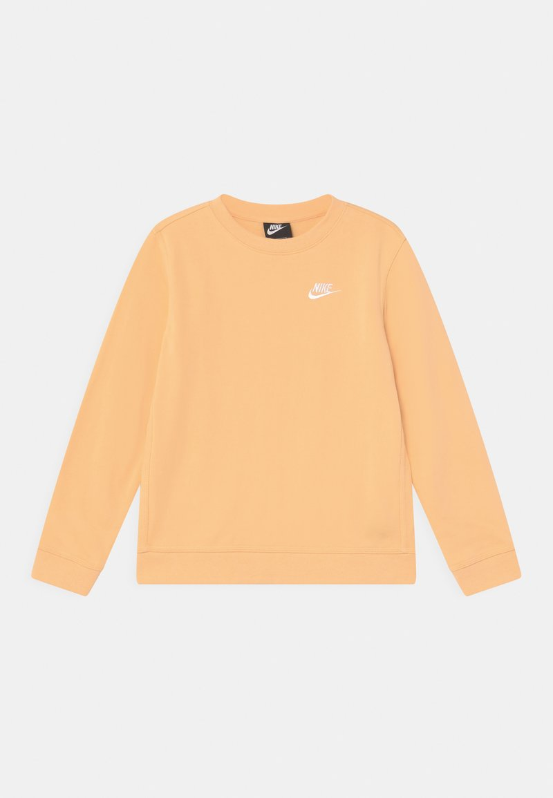 Nike Sportswear - CREW CLUB - Mikina - orange chalk/white