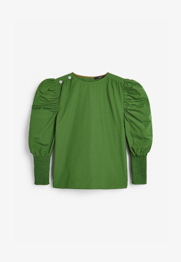 Next Bluzka - olive/zielony QQGT