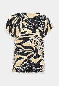comma - Print T-shirt - beige - 1