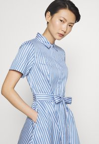 HUGO - EKALIANA - Shirt dress - light/pastel blue - 5