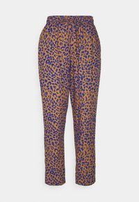 Dedicated - PANTS SKAGEN LEOPARD - Trousers - chipmunk - 0