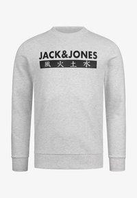 Jack & Jones - ELEMENTS  - Sweatshirt - white melange - 4