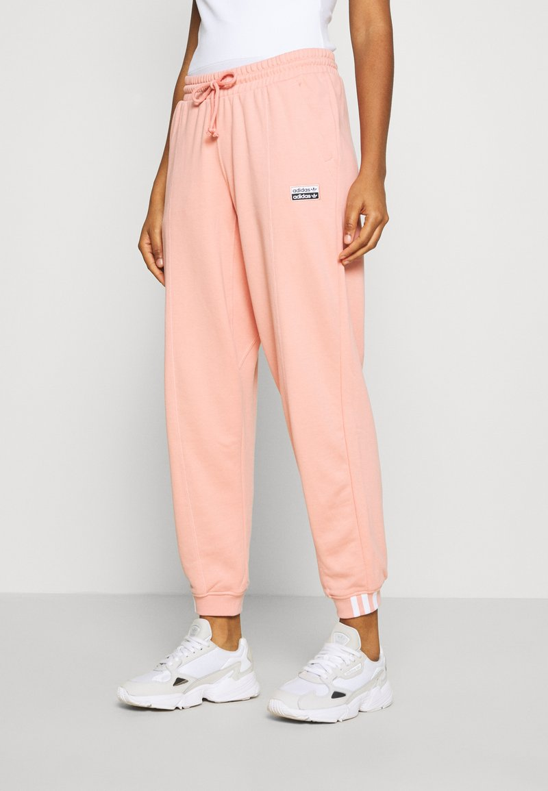 adidas Originals - REGULAR JOGGER - Tracksuit bottoms - trace pink