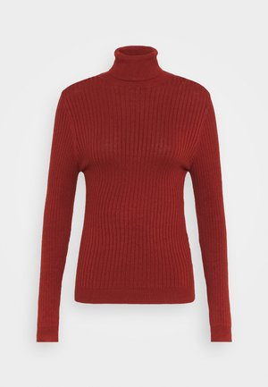 ONLKAROL ROLLNECK  - Jumper - burnt henna