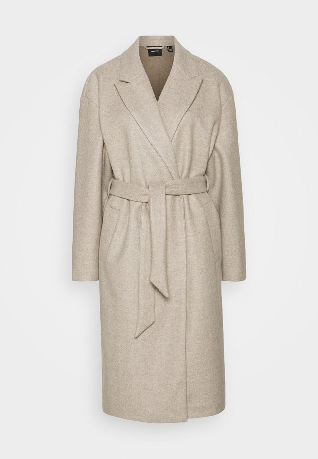 FORTUNE - Classic coat - silver mink/melange
