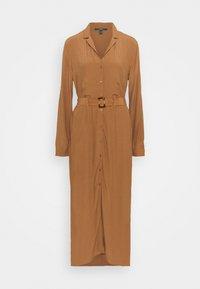 Esprit Collection - DRESS - Shirt dress - toffee - 0