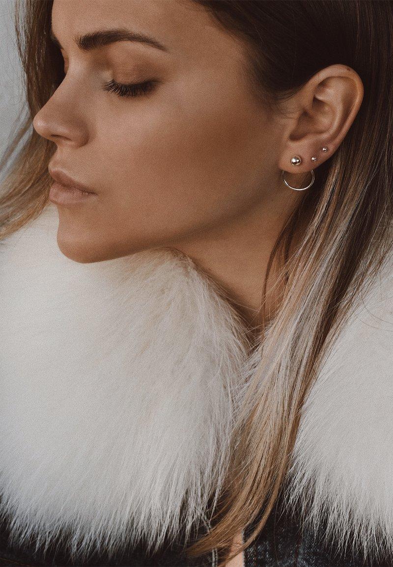 No More - CHORD EARRINGS - Earrings - silver