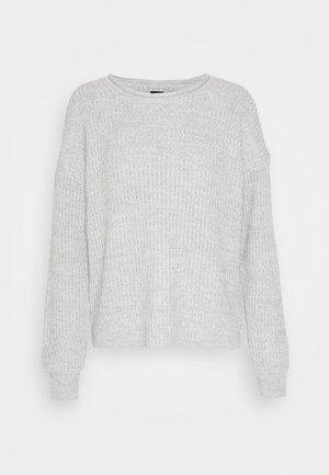 ROLLNECK SHAKER  - Strikkegenser - light grey