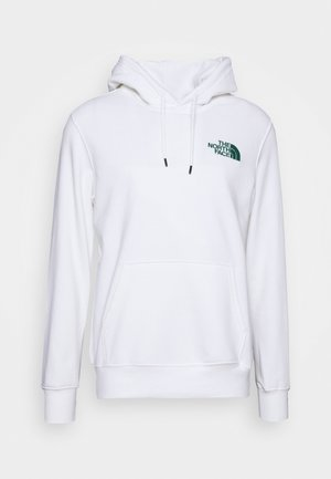 WALLS ARE MEANT FOR CLIMBING - Kapuzenpullover - white