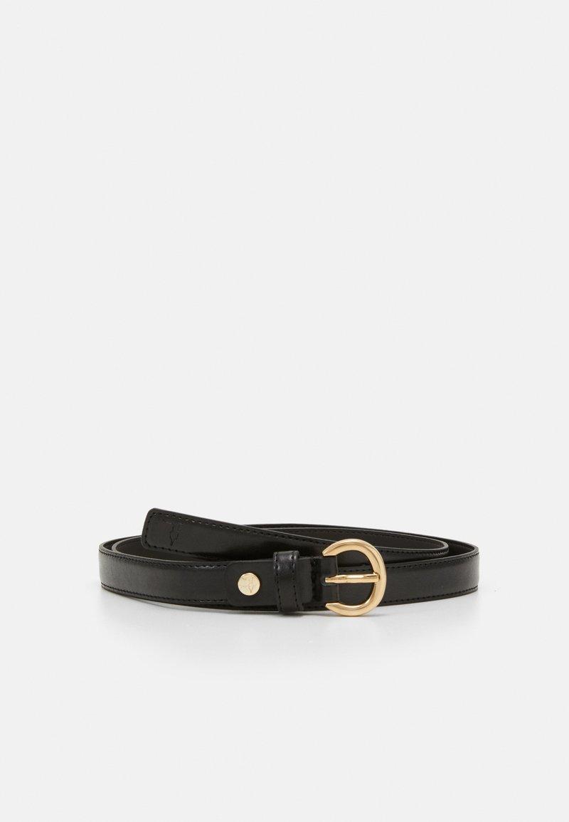 Trussardi - NARROW BELT - Belt - black