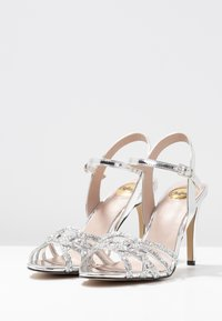 Buffalo - AFTERGLOW - High heeled sandals - silver - 4