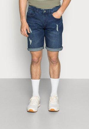 OSLO DESTROY  - Shorts di jeans - ocean blue