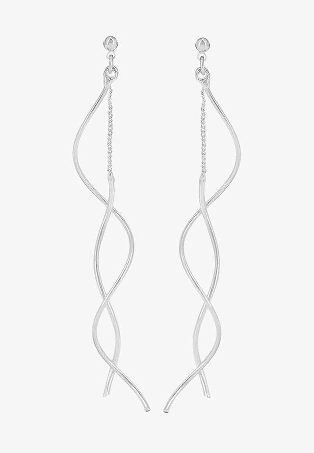 REVOLVE - Korvakorut - silver-coloured