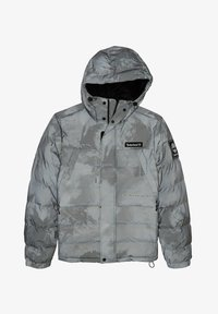 Timberland - YC REFLECTIVE WARMEST PRINTED PUFFER JACKET - Down jacket - weather print - 0