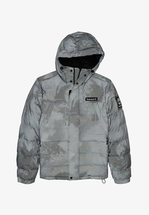 YC REFLECTIVE WARMEST PRINTED PUFFER JACKET - Down jacket - weather print