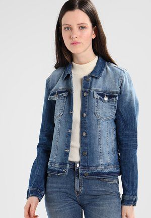 PULLY JACKET - Kurtka jeansowa - medium blue