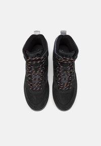 Ellesse - ALZANO - Sneakersy wysokie - black/grey/offwhite - 3