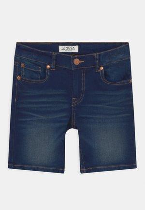 JERRY - Denim shorts - blue denim