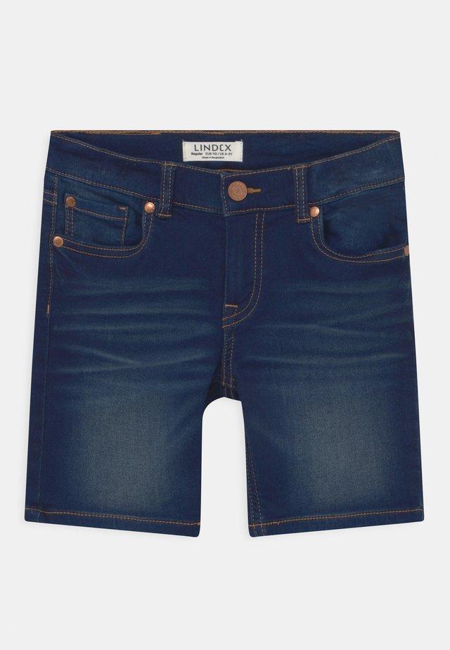 JERRY - Jeansshort - blue denim