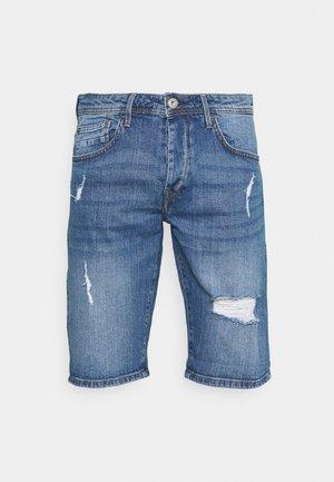 MOLOKO - Jeansshorts - dark blue denim