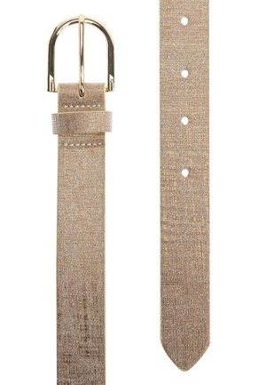 GOLD SHIMMER REGULAR BELT - Belt - gold