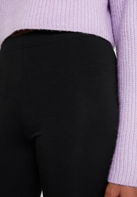 Monki - KIM SIMPLE 2 PACK - Leggings - black - 4