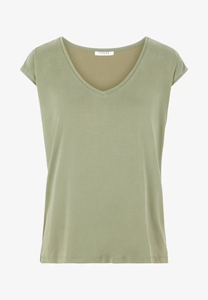 PCKAMALA - Basic T-shirt - deep lichen green