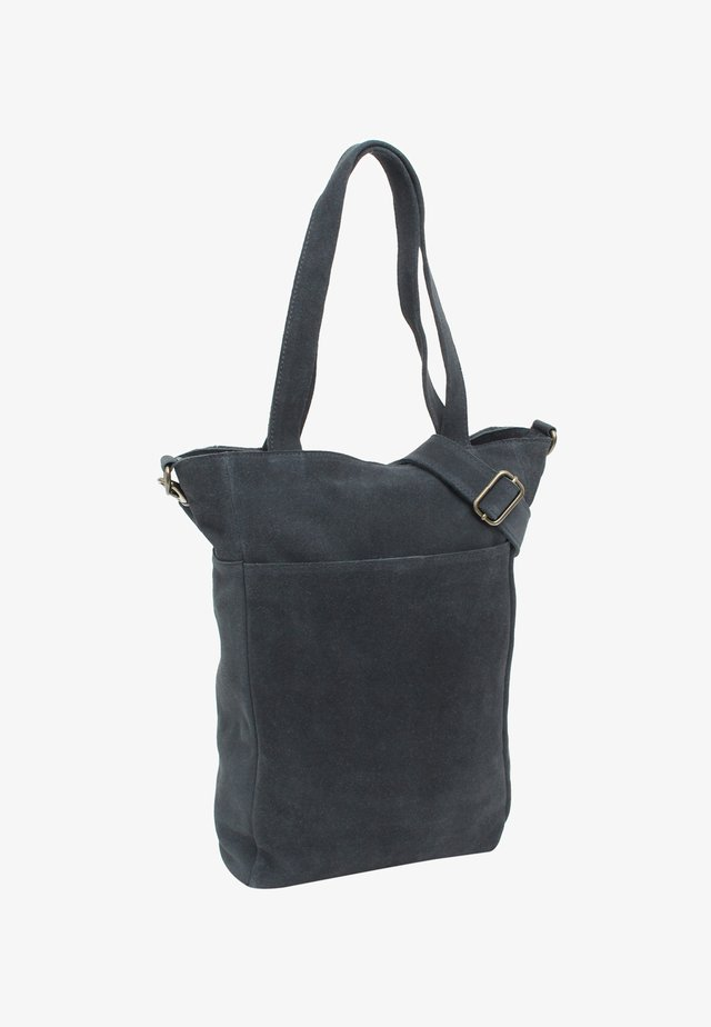 Shopping bag - blue