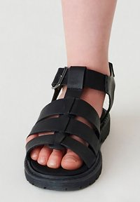 Next - Chodecké sandály - black - 0