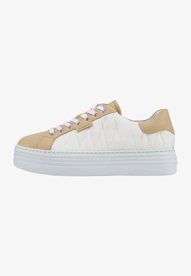 Orlando - Sneakersy niskie - beige/weiß