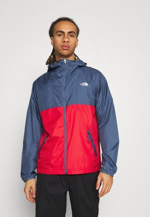 CYCLONE JACKET UTILITY - Outdoor jacket - teal/dark red