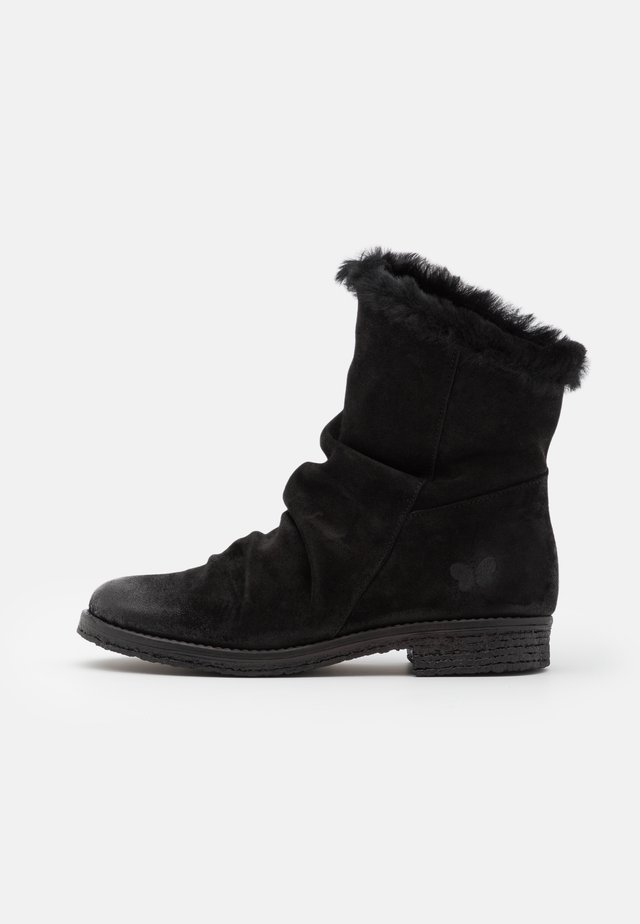 CREPONA  - Winter boots - nirvan nero