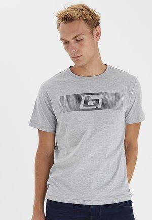 Print T-shirt - stone mix