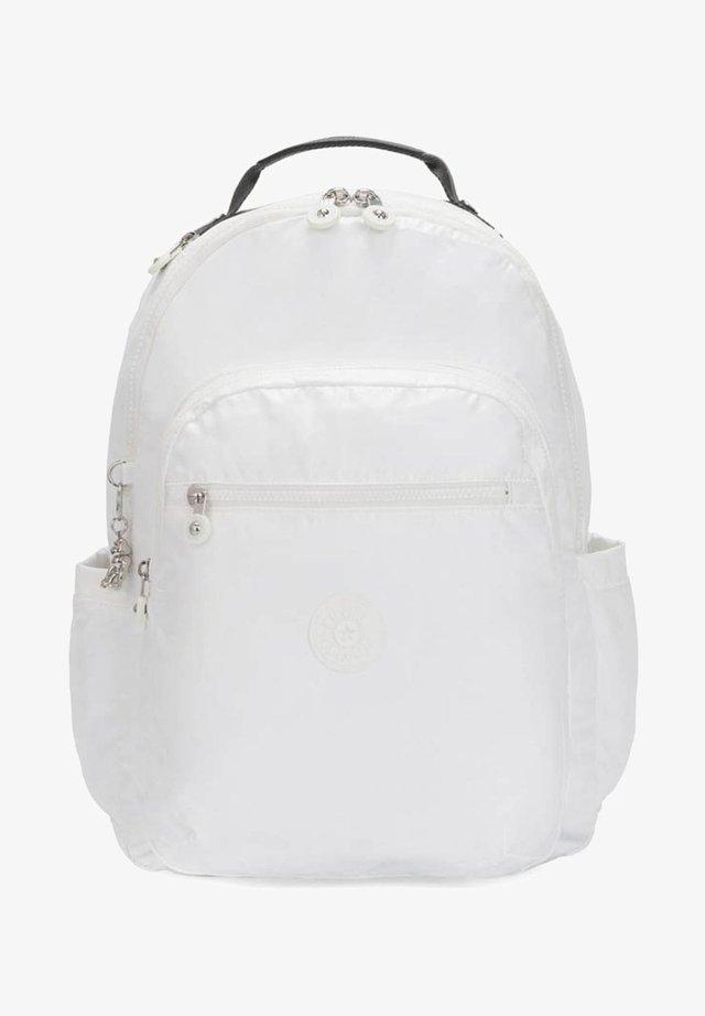 BASIC PLUS SEOUL - Rucksack - white metallic