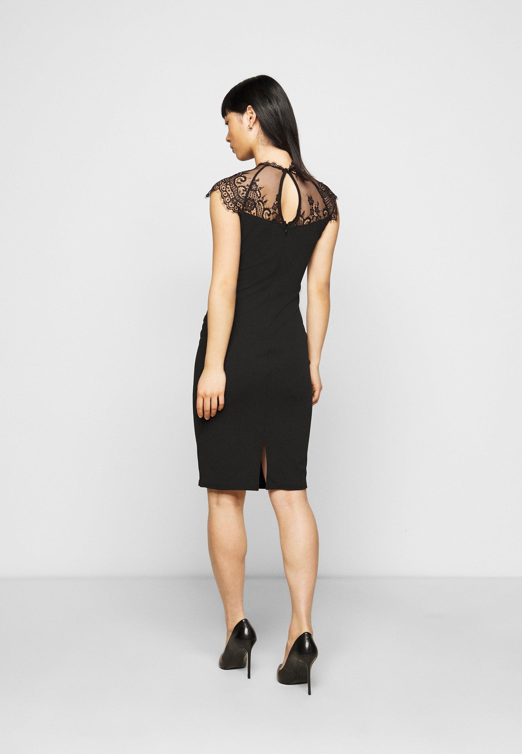 SISTA GLAM PETITE LOTTIE Cocktailkleid/festliches Kleid black/schwarz