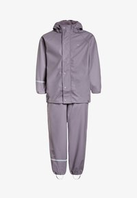 CeLaVi - RAINWEAR SUIT BASIC SET WITH FLEECE LINING - Rain trousers - nivana - 0