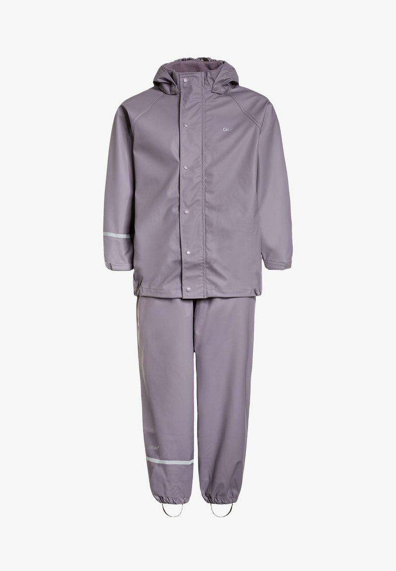 CeLaVi - RAINWEAR SUIT BASIC SET WITH FLEECE LINING - Rain trousers - nivana
