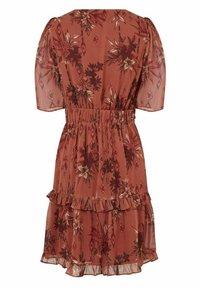 NAF NAF - Sukienka letnia - brown - 4