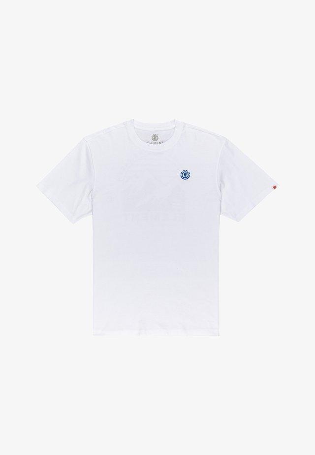FOXWOOD - T-shirt imprimé - optic white