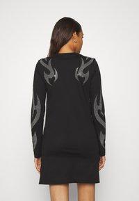 Diesel - T-ROSSINA T-SHIRT - Jersey dress - black - 2