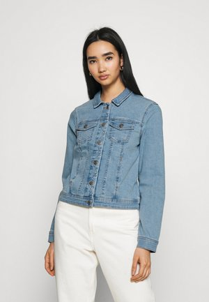 ONLWONDER LIFE - Denim jacket - light blue denim